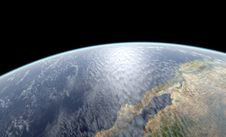 Free Earth Close-up Rendering Stock Images - 20022404