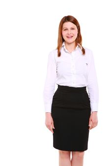 Free Businesswoman Standing Royalty Free Stock Images - 20022769