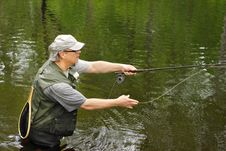 Free Fly Fishing Royalty Free Stock Images - 20022909