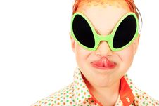 Free Yellow Glasses Royalty Free Stock Images - 20023029