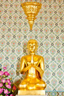 Free Golden Buddha Stock Photography - 20023222
