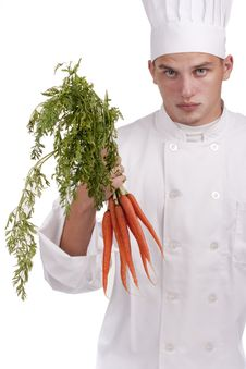Free Chef In Uniform Royalty Free Stock Image - 20023416