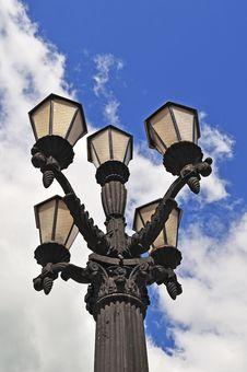 Retro Lantern Royalty Free Stock Image