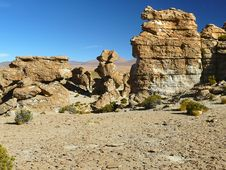Free Valle De Rocas, Altiplano, Bolivia Stock Photo - 20023520