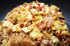 Free Fried Rice Vemicelli Royalty Free Stock Photos - 20024838
