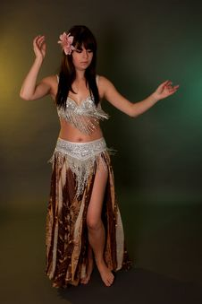 Free Belly Dancer Royalty Free Stock Images - 20025829
