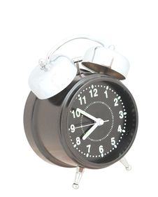Free Black Alarm Clock Stock Image - 20026121