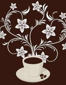 Free Coffee Flower Stock Images - 20026434