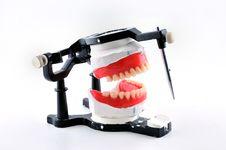 Free Machine For Dental Prostheses Royalty Free Stock Photos - 20026908