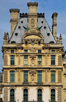 Free Od Building At The Louvre, Paris Royalty Free Stock Image - 20026966