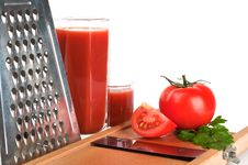 Free Fresh Tomato Juice Royalty Free Stock Photos - 20027988