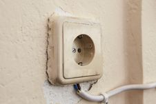 Free Old Socket Stock Image - 20028041