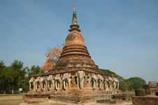 Free Ancient Temple At Sukhothai Historical Park Royalty Free Stock Image - 20028916
