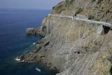 Free Coastal Road In Italy Stock Images - 20029374