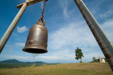 Free Bell On Mountain And Blue Sky Stock Image - 20029381