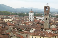 Free Rooftops Of Lucca Royalty Free Stock Photos - 20029428