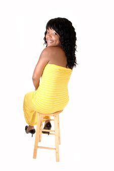 Free Pretty Black Lady. Stock Photo - 20029620