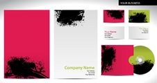 Free Business Company Style With Stains Royalty Free Stock Photo - 20029935