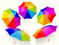Free Rainbow Umbrella Stock Image - 20030411