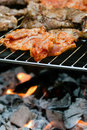 Free Meat On The Grill Stock Image - 20032831