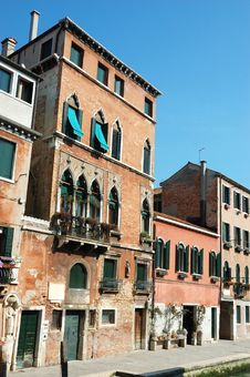 Free House Of Great Painter Tintoretto,Venice Royalty Free Stock Images - 20030079