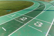 Free Athletics Track Royalty Free Stock Images - 20030199