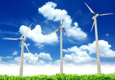 Free Wind Turbines Stock Photography - 20030212