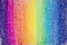 Abstract Pastel Drawing Royalty Free Stock Photo
