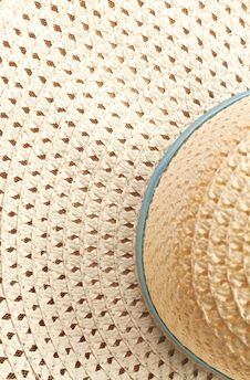 Free Summer Hat Texture Closeup Stock Photo - 20030960