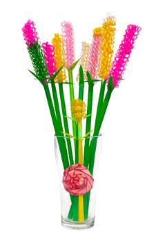 Free Flowers Plastic. Royalty Free Stock Photography - 20031537