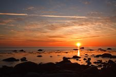 Free Sunset Royalty Free Stock Photo - 20031815