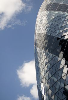 Free Gherkin In The Sky Royalty Free Stock Photos - 20031868