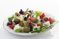 Free Greek Salad Stock Photo - 20031890
