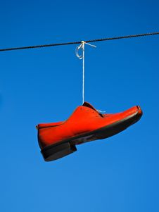 Free Red Shoe Stock Image - 20031911