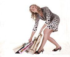 Free Woman Makes Shopping Stock Photos - 20032233