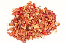 Pile Of Hot Red Chilli Chillies Pepper Stock Photo