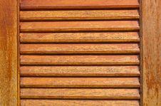 Free Wooden Louver Windows Background Stock Photos - 20032273