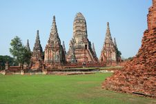 Free Old Temple In Thailand Royalty Free Stock Photos - 20032278