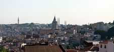Free A View Of Istanbul. Royalty Free Stock Photography - 20032377