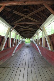 Free Old Covered Bridge Royalty Free Stock Photography - 20032697