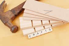 Free Wood Crafts Royalty Free Stock Image - 20032746