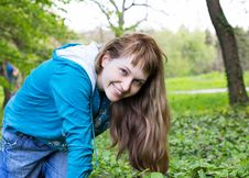 Free Beautiful Smiling Woman Outdoor Stock Image - 20032841