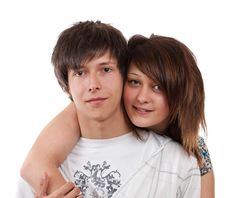 Free Loving Couple Embracing Royalty Free Stock Photography - 20033347