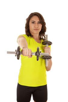 Free Serious Weights Royalty Free Stock Image - 20033426