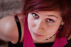 Close Up Portrait Stock Image