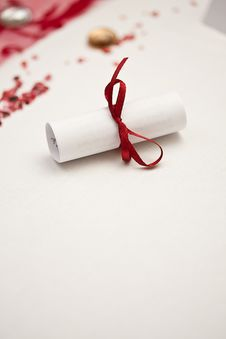 Free Rolled Paper Royalty Free Stock Photo - 20034035