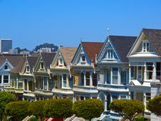 Free Painted Ladies Of San Francisco Stock Images - 20034134