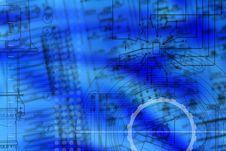Free Abstrakt Electromechanic Drawning Stock Images - 20034364