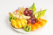 Free Fruit Plate Stock Images - 20034754