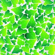 Free Vector Green Leaf Seamless Background Stock Photos - 20035523